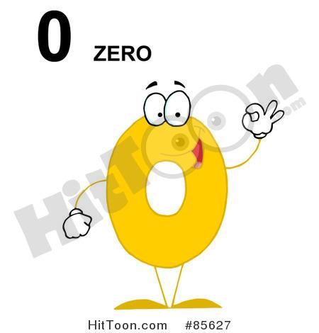 Number Zero Clipart.