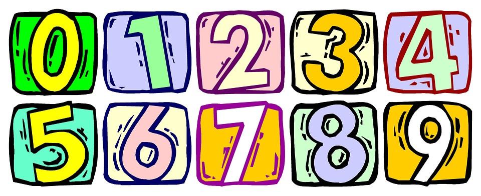 Free illustration: Numbers, Numbering, School, Kids.