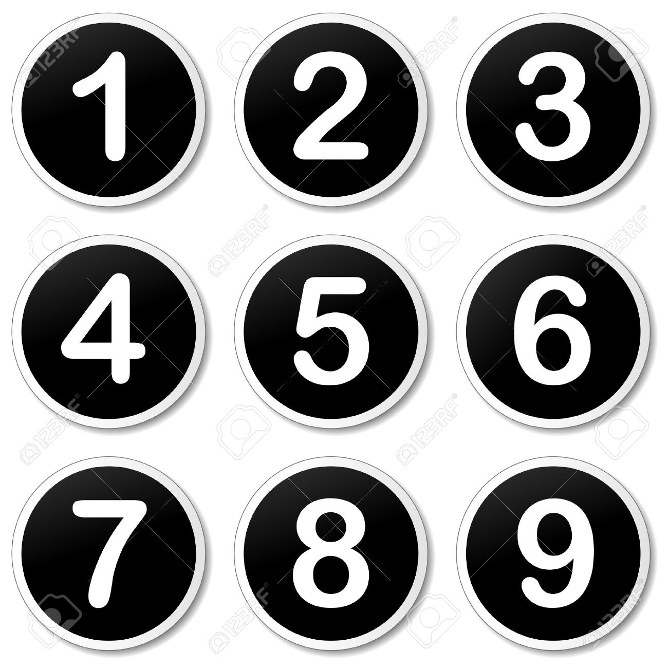 Numbering Clipart.