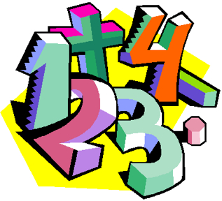 Clip art numbers.