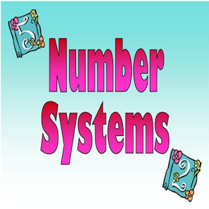 Number System Reference free.