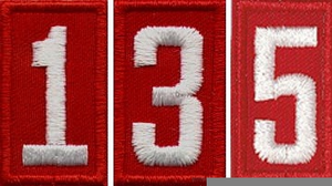 Cub Scout Pack Numbers Clipart.