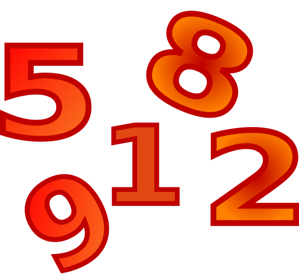 Numbers Clipart Png