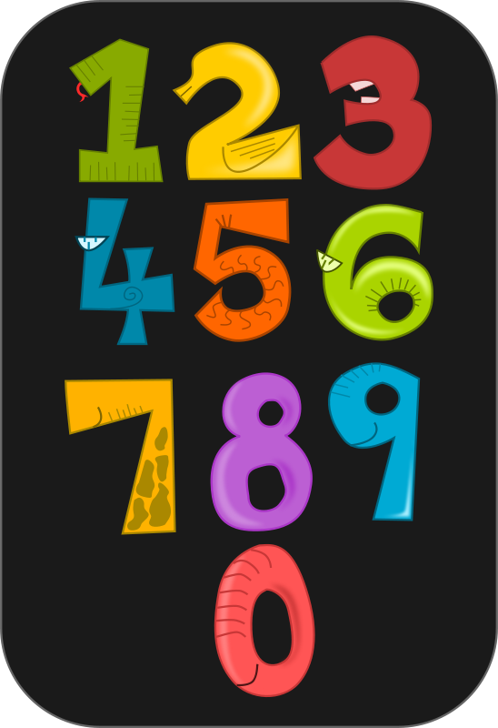Numbers Clipart Png.