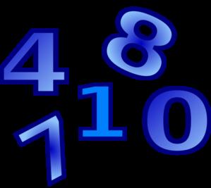Numbers Clip Art at Clker.com.