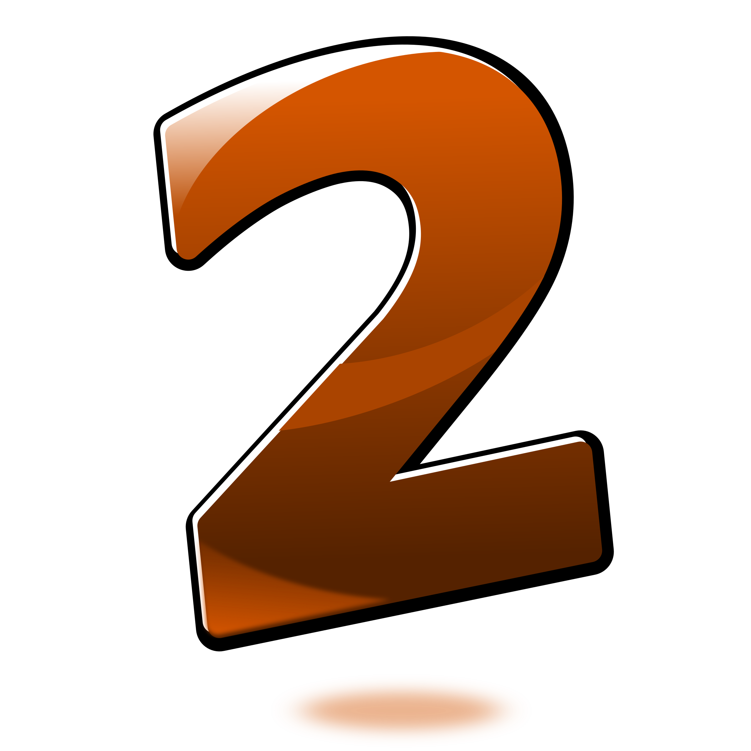 Number clipart transparent png.