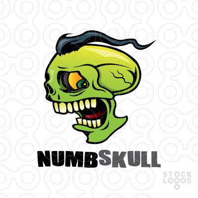 Sold Logo: Numb Skull.