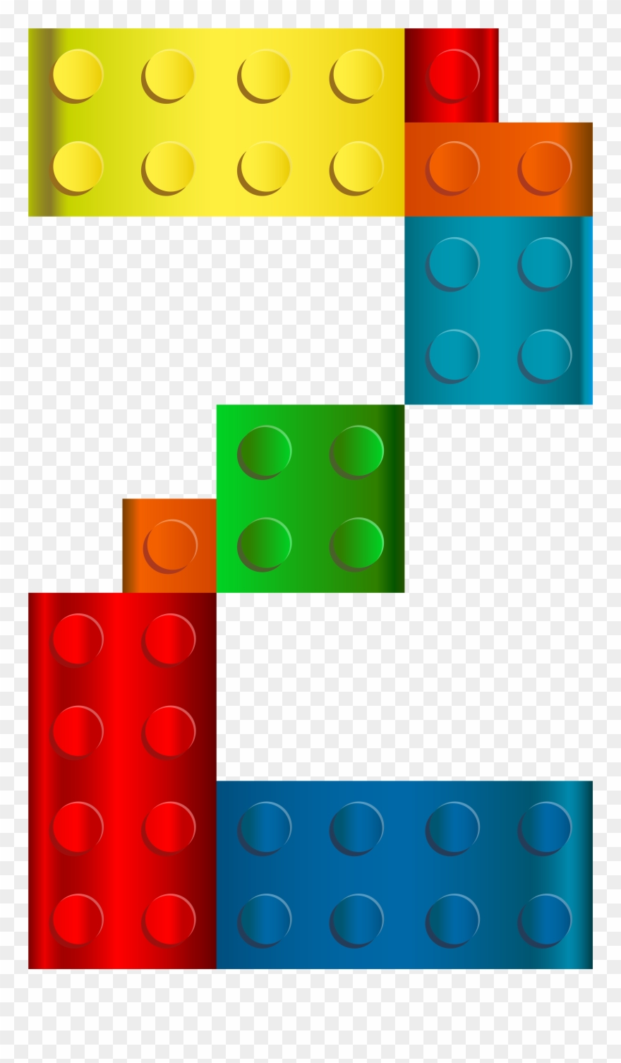 Lego Number Two Png Transparent Clip Art Imageu200b.