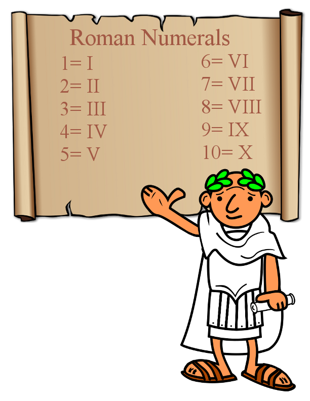 Numeral Clipart.