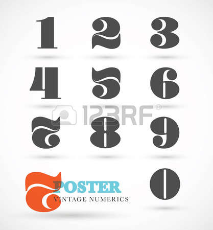 28,113 Numeric Stock Vector Illustration And Royalty Free Numeric.