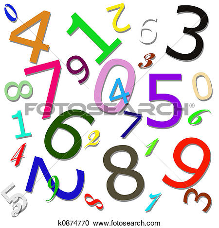 Stock Illustrations of Numeric Pattern k0874770.