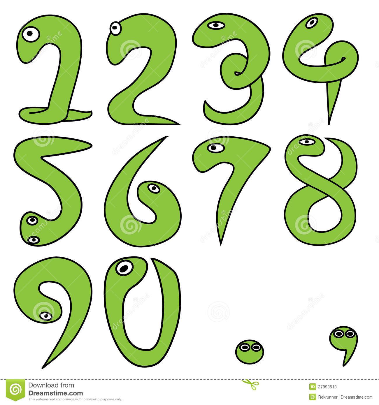 Numeric Cartoon 1.