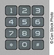 Numeric keypad Illustrations and Clipart. 90 Numeric keypad.