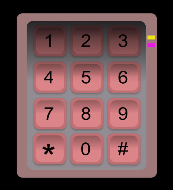 Numeric Keypad.