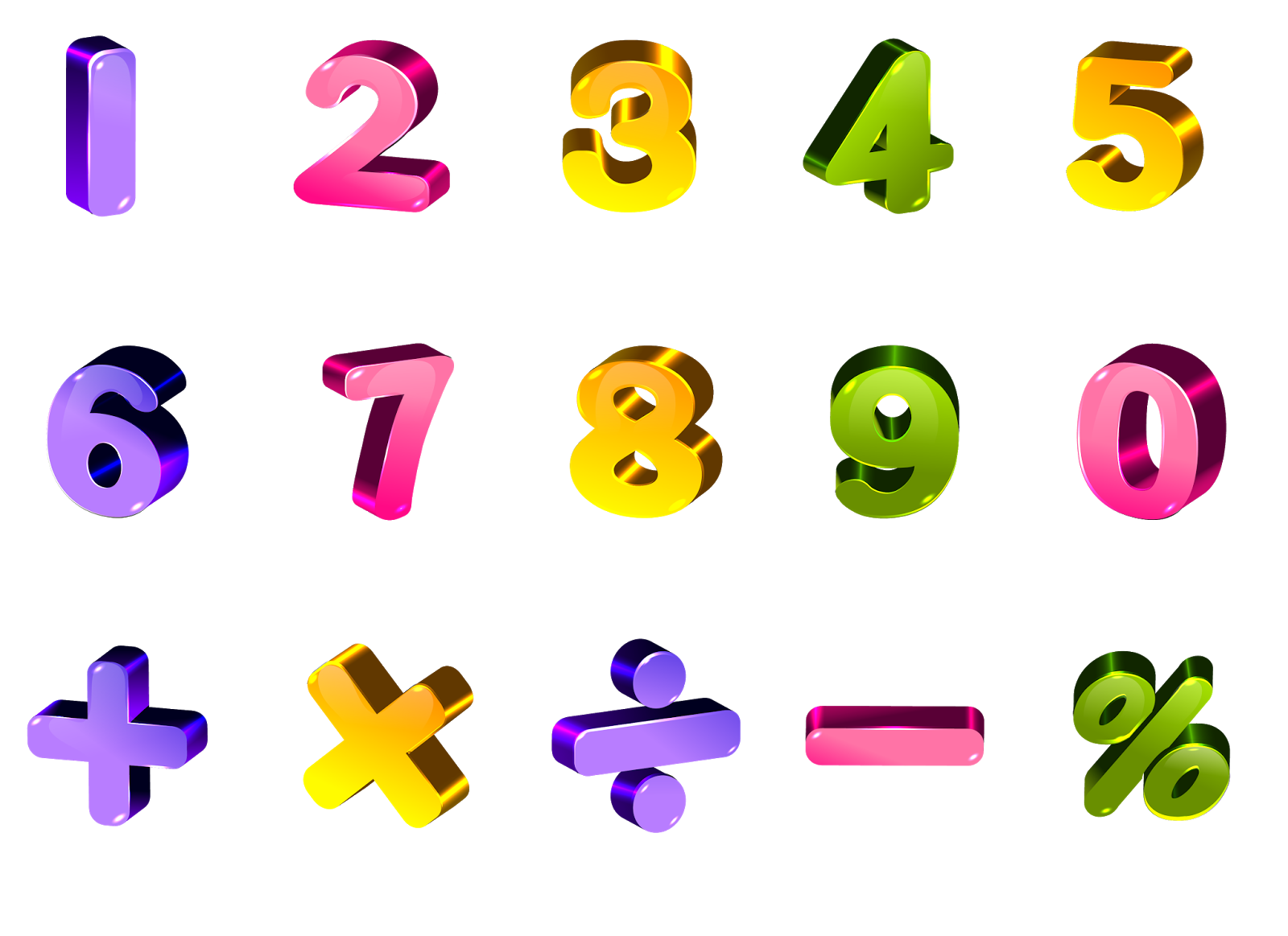 Numeros png clipart images gallery for free download.