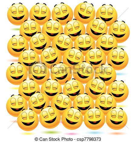 Vectors of Smileys.