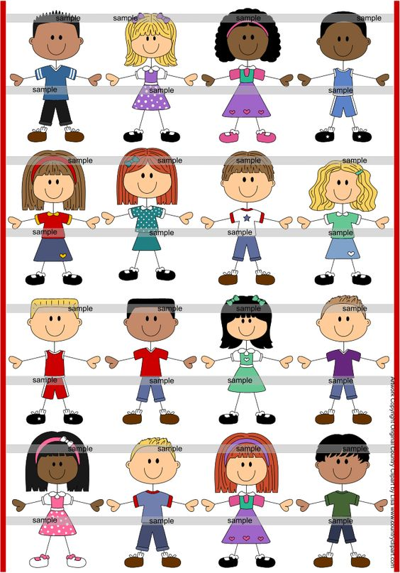 clipart people faces.