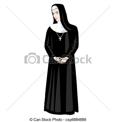 Nun Illustrations and Clip Art. 956 Nun royalty free illustrations.