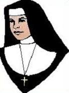 Free Nun Clipart.