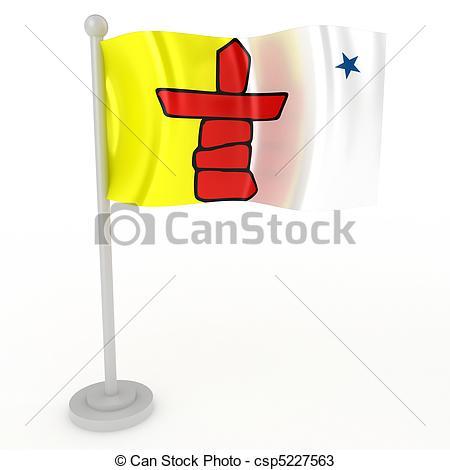 Flag of nunavut Illustrations and Clip Art. 36 Flag of nunavut.