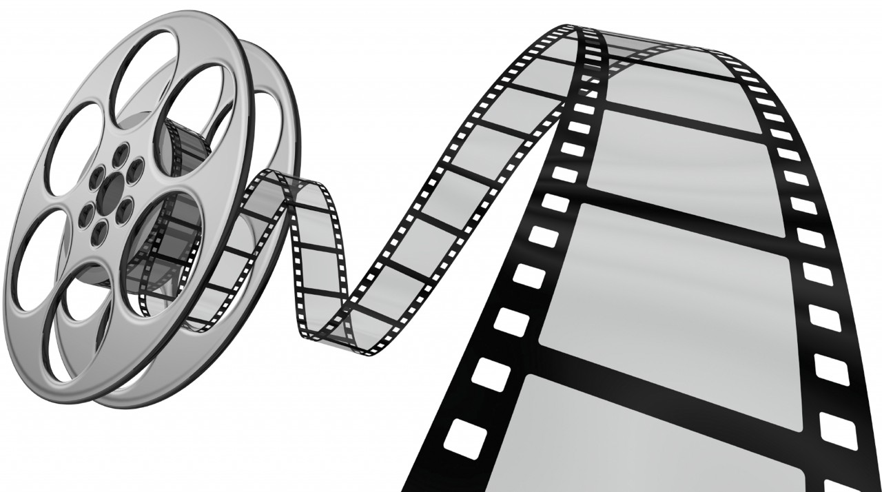 Movie screening clipart.