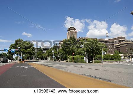 Stock Photo of Aichi Prefectural Hall, Nagoya city, Aichi.