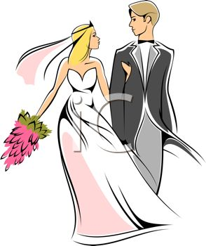 Marriage Ceremony Clip Art.