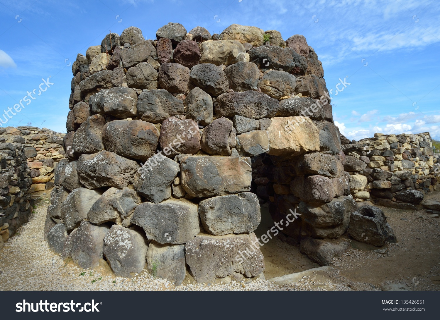 The Nuraghe (Nuraghi, Nuraghes) Is Ancient Megalithic Edifice, The.