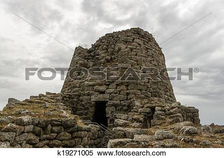 Stock Image of Nuraghe k19271005.