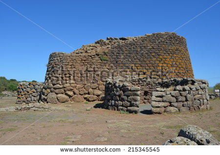 Nuraghe Stock Photos, Royalty.