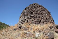 Nuraghe In Sardinia Royalty Free Stock Photography.