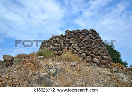 Stock Photo of Nuraghe k16025772.