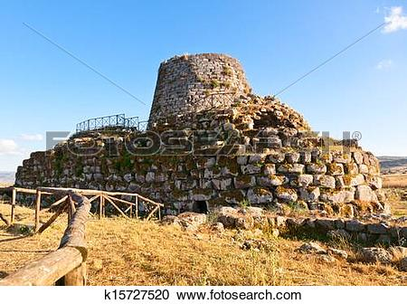 Stock Photography of Nuraghe Santu Antine k15727520.