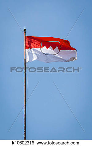 Stock Illustration of Nuremberg flag k10602316.