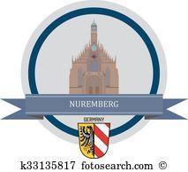 Nuremberg Clip Art Vector Graphics. 79 nuremberg EPS clipart.