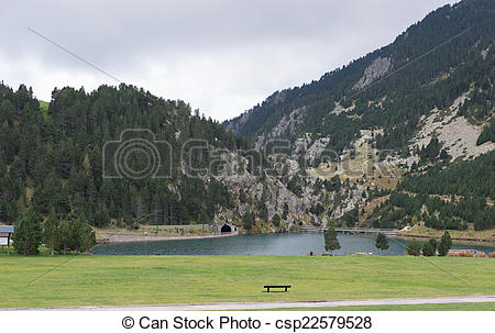 Stock Photo of Nuria Valley.