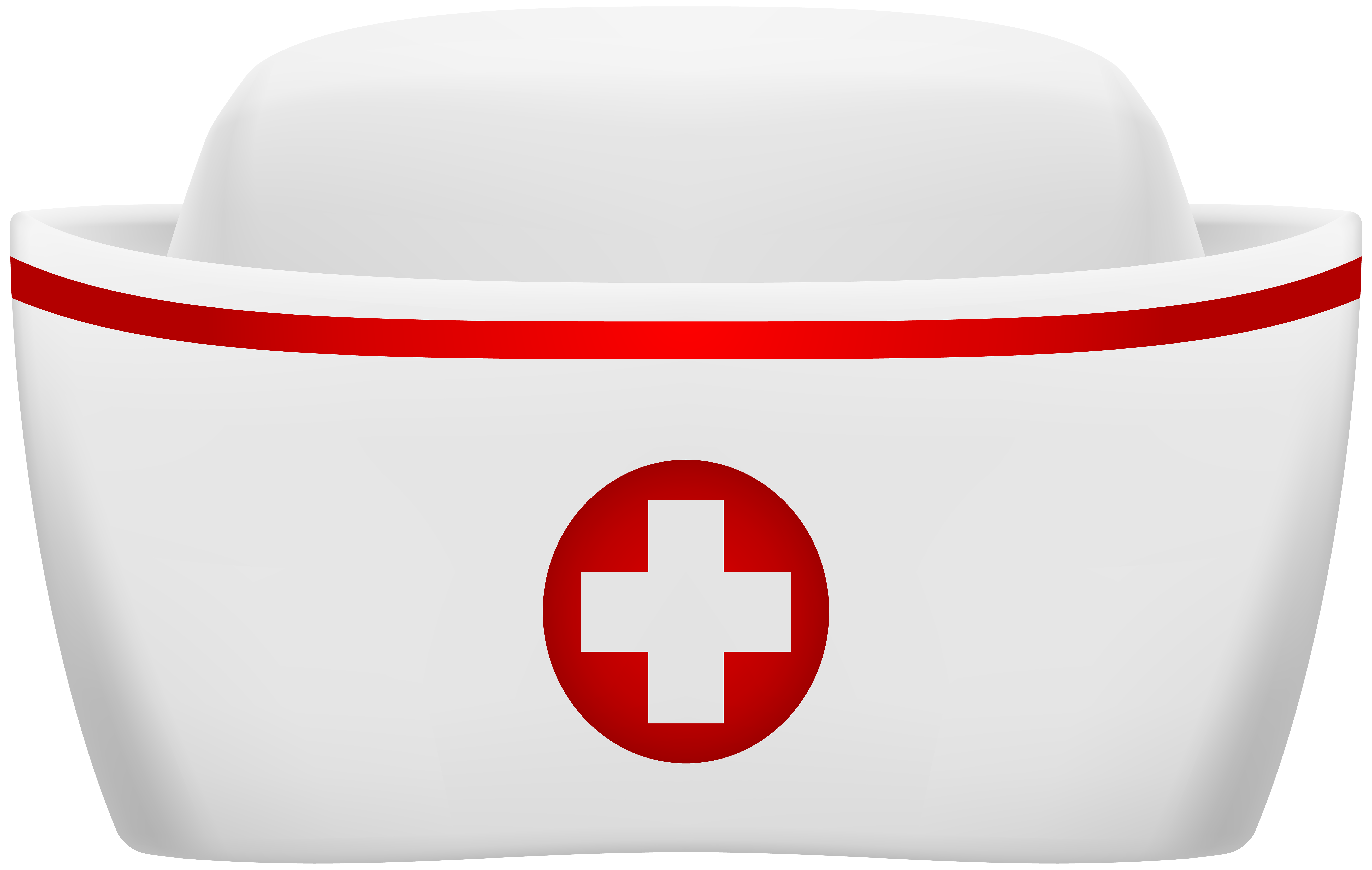 Nurse Hat PNG Clip Art Image.