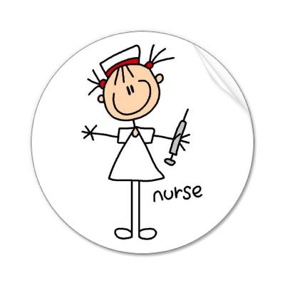 Funny nursing clip art.