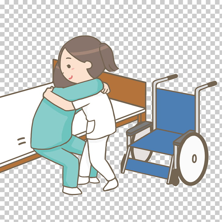 Nurse Wheelchair Nursing care Patient, wheelchair PNG.