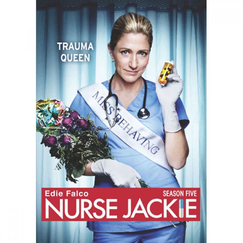 Nurse Jackie: Season 5 DVD.