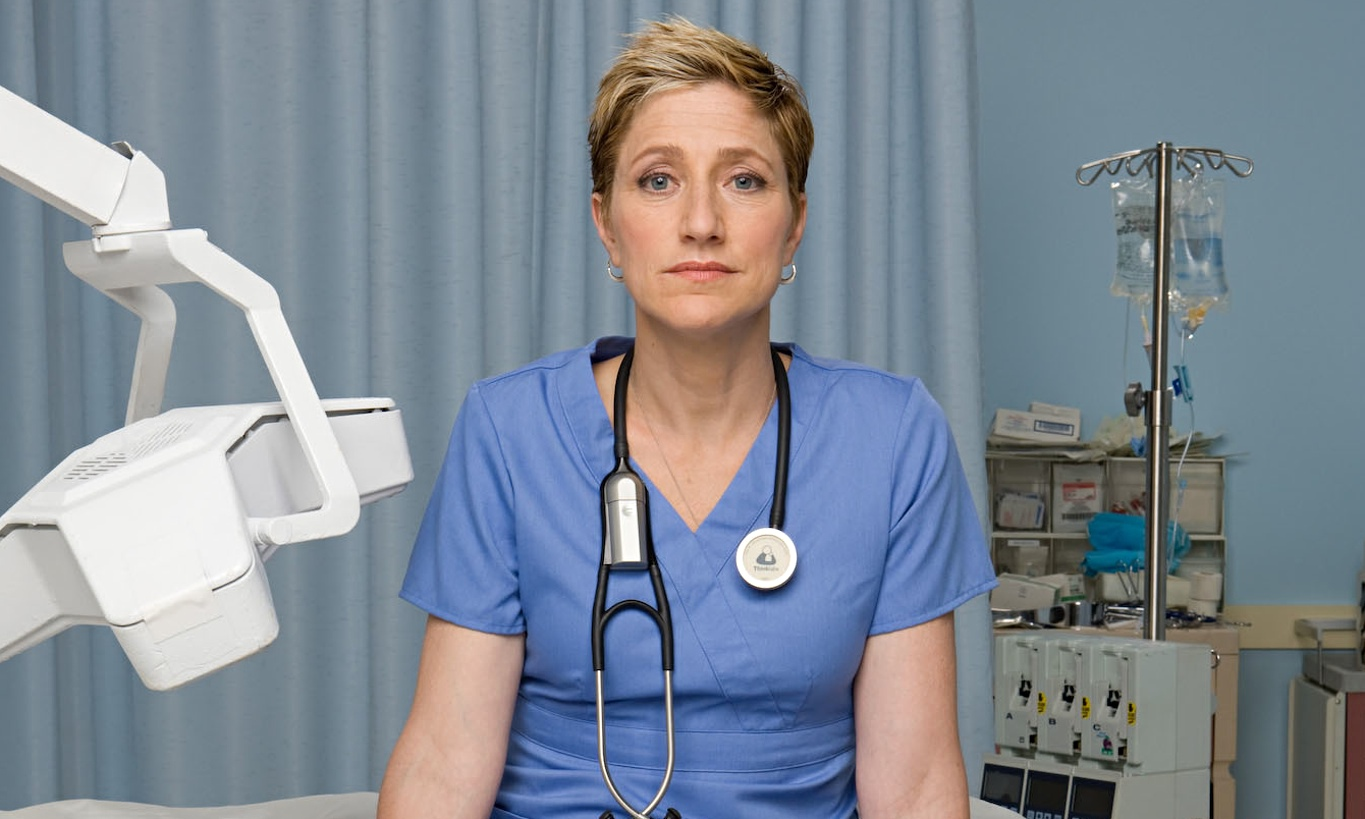 Acting Geeks Get A Fix From Nurse Jackie's Edie Falco.