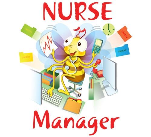 Nurse Manager Clipart.