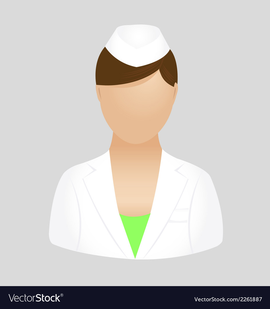 Nurse icon symbol logo clipart.
