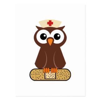 Owl Nurse Clipart.