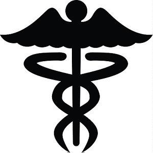 Nurse Logo Silhouette.