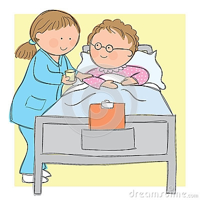 Nurse Teaching Clipart.