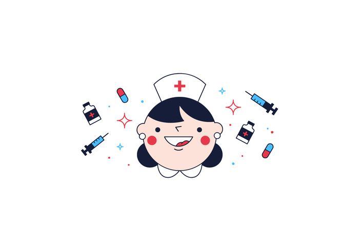 Nurse Vector.