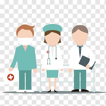 Nurses Vector cutout PNG & clipart images.