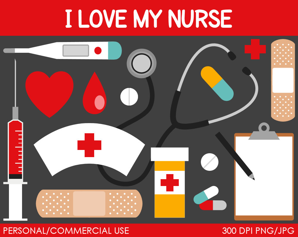 Nursing Hat Clip Art Nurse Clipart Digital Clip Art #QjfXb0.