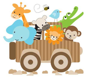 Jungle Nursery Clipart.